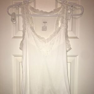 Missimo Lace Tank Top